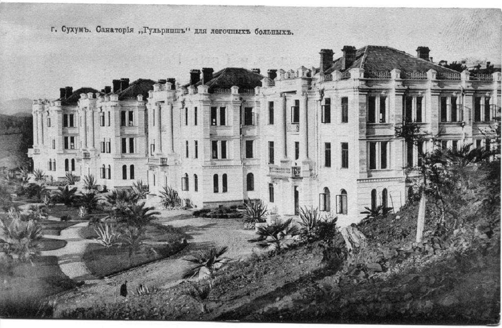 белый корпус дворца смецкого