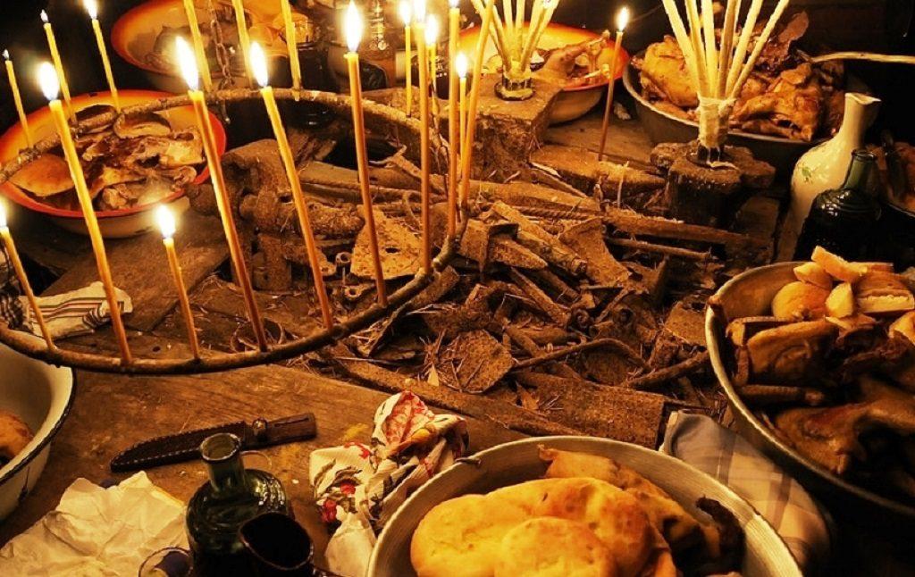 Ажьырныхуа абхазский праздничный стол